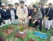 پشاور: ایم پی اے رابعہ بصری گورنمنٹ کالج پشاور میں سائنس اینڈ انفارمیشن ..