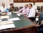 لاہور: ڈپٹی کمشنر لاہور سمیر احمد سید ڈسٹرکٹ ریجنل ٹرانسپورٹ اتھارٹی ..