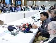 کراچی: آئی جی سندھ پولیس امجد جاوید سلیمی کورنگی ایسوسی ایشن آف ٹریڈ ..