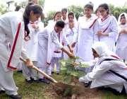 اسلام آباد:ماڈل کالج فار گرلز میں یوم آزادی کے حوالے سے منعقدہ تقریب ..