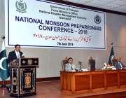اسلام آباد: چیئرمینNDMAلیفٹیننٹ جنرل عمر محبوب حیات قومی کانفرنس برائے ..