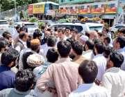 مر ی: ایم این اے صداقت علی عباسی اور ایم پی اے میجر (ر) لطاسب ستی جھیکا ..