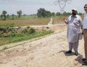 چنیوٹ: ڈپٹی کمشنر حضر افضال چوہدری بند دریائے چناب کی صورتحال کا جائزہ ..