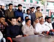 کراچی: ایم کیو ایم، مسلم لیگ ن ، پی ٹی آئی اور مروت گروپ سے تعلق رکھنے ..