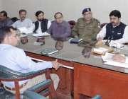 قصور: ڈپٹی کمشنر رانا محمد ارشد ڈسٹرکٹ انفورسمنٹ کمیٹی برائے بجلی چوری ..