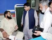 لاہور: سیکرٹرٹی پرائمری اینڈ سیکنڈری ہیلتھ علی بہادر قاضی ڈی ایچ کیو ..