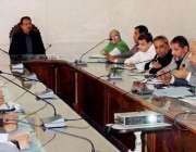 کراچی: میئر کراچی وسیم اختر سٹیزن کمپلینٹ انفارمیشن سسٹم(1339)کے حوالے ..