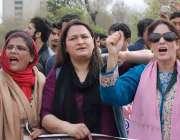 اسلام آباد: پاکستان تحریک انصاف کشمیر کے کارکنان بھارتی جارحیت کیخلاف ..