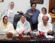 کراچی: سندھ اسمبلی میں پاکستان پیپلز پارٹی کی رہنما فریال تالپور ایم ..