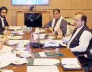 لاہور: چیف سیکرٹری پنجاب اکبر درانی پانی کا ضیاع روکنے سے متعلق اقدامات ..