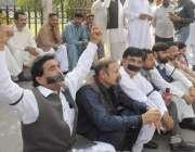 لاہور: مسلم لیگ (ن) کے اراکین داخلے کی اجازت نہ دینے پر پنجاب اسمبلی ..