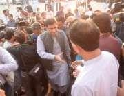 لاہور: قائد حزب اختلاف حمزہ شہباز پنجاب اسمبلی آ رہے ہیں۔