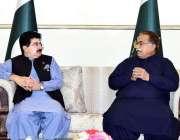 اسلام آباد: قائمقام صدر محمد صادق سنجرانی سے چیئرمین سٹینڈنگ کمیٹی ..