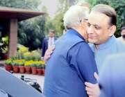 لاہور: صدر مملکت ڈاکٹر عارف علوی کا پنجاب کے سینئر وزیر عبدالعلیم خان ..