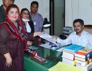 حیدر آباد: پاکستان پیپلز پارٹی کی امیدوار صنم تالپور الیکشن2018کے سلسلے ..