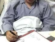 راولپنڈی: چیئرمین سینیٹ محمد صادق سنجرانی روز مرہ کام میں مصروف ہیں۔