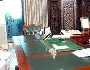 اسلام آباد: صدر مملکت ممنون حسین سے چیئرمین سینیٹ محمد صادق سنجرانی ..