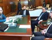 اسلام آباد: وزیر مملکت عارف علوی سے کے الیکٹرک (K-Electric) کا وفد ملاقات ..
