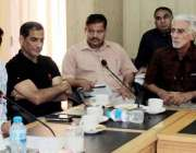 لاہور: سیکرٹری سپورٹس پنجاب محمد عامر جان سپورٹس بورڈ پنجاب میں پنجاب ..