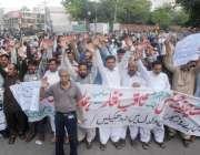 لاہور: پنجاب ڈینٹل پریکٹشنرز ایسوسی ایشن کے زیر اہتمام اپنے مطالبات ..