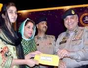لاہور: آئی جی ہائی وے اینڈ موٹروے پولیس محمد عام ذوالفقار خان (NH & NP) ..