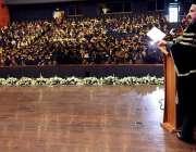 اسلام آباد: وفاقی وزیر ریلوے شیخ رشید احمد کالج آف فزیشنز اینڈ سرجنز ..