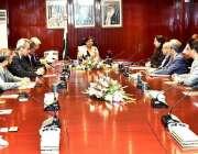 کراچی: نگران صوبائی وزیر خزانہ شمشاد اختراوورسیز چیمبر آف کامرس اینڈ ..