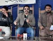 کراچی: کراچی پریس کلب میں فکسڈ کے سربراہ عالمگیر خان شہریوں کو درپیش ..