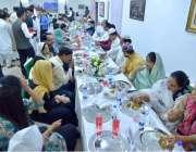 نیو دہلی: پاکستان کے ہائی کمشنر سہیل محمود کی جانب سے دئیے گئے افطار ..