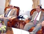 کوئٹہ: صدر مملکت ممنون حسین سے گورنر بلوچستان محمد خان اچکزئی ملاقات ..