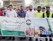 لاہور: ڈپٹی کمشنر لاہور کیپٹن (ر) انوارالحق صاف اور سر سبز پنجاب مہم ..
