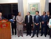 اسلام آباد: چیئرمین جاپان پاکستان پارلیمنٹیرین فرینڈشپ لیگ ایک تقریب ..
