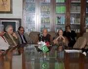 """لاہور: ایوان کارکنان تحریک پاکستان میں """"امریکہ کے الزامات اور پاکستان .."""