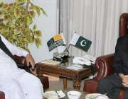 اسلام آباد: صدر آزاد کشمیر سرداسر مسعود خان سے سابق وائس چیئرمین بار ..