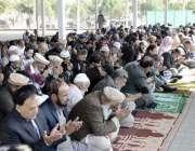 اسلام آباد: بین الاقوامی اسلامی یونیورسٹی میں نماز استسقاء کی ادائیگی ..