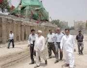 لاہور: سپریم کورٹ آف پاکستان کے حکم پر اورنج لائن میٹرو ٹرین پراجیکٹ ..