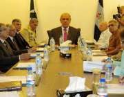 لاہور: گورنر پنجاب ملک محمد رفیق رجوانہ کیڈٹ کالج حسن ابدال میں ممبرز ..