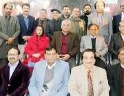 راولپنڈی: ادبی تنظیم زاویہ کے زیراہتمام آرٹس کونسل میں احمد فراز کی87ویں ..