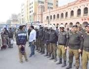 لاہور: چیف جسٹس پاکستان جسٹس ثاقب نثار کی سپریم کورٹ لاہور رجسٹری میں ..