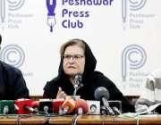 پشاور: سابق رکن صوبائی اسمبلی معراج ہمایو خان پریس کانفرنس سے خطاب ..