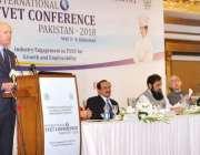 اسلام آباد: ناروے کے سفیر ٹورنیڈریبو انٹرنیشنل ٹی وی ای ٹی کانفرنس ..