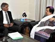 اسلام آباد: وفاقی وزیر برائے انسانی حقوق ڈاکٹر شیریں مزاری سے ایگزیکٹو ..
