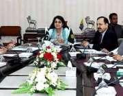 اسلام آباد: وفاقی وزیر برائے کشمیر افیئرزاینڈ گلگت بلتستان مسز روشن ..
