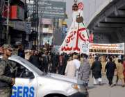 راولپنڈی: چہلم امام حسین(رض) کے موقع پر امام بارگاہ عاشق حسین سے برآمد ..