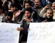 راولپنڈی: گنجمنڈی کے علاقہ مکین تھانہ گنجمنڈی پولیس کے خلاف احتجاج ..