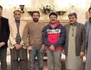 لاہور: تحریک انصاف کے مرکزی رہنما جمشید اقبال چیمہ کیساتھ حلقہ این ..