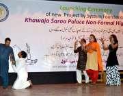 فیصل آباد: سسٹم فاؤنڈیشن خواجہ سرا غیر رسمی سکول کے زیر اہتمام خواجہ ..
