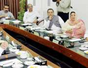 لاہور: صوبائی وزیر خزانہ مخدوم ہاشم جوان بخت پنجاب کی سالانہ ترقیاتی ..