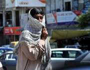 اسلام آباد: وفاقی رارالحکومت میں شہری گرمی کی شدت سے بچنے کے منہ پر ..