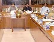 اسلام آباد: سینیٹر محمد عثمان خان کاکڑ چیئرمین سٹینڈنگ کمیٹی اجلاس ..
